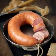 Smoked sausage — Stockfoto