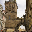 Tower on the Charles Bridge ,Prague — Stock Photo
