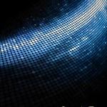 Geometric tech background. — Stock Photo