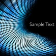 Geometric tech background — Stock Photo