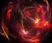Lighting fractal — Stock Photo