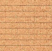 平铺的纹理的软木 — 图库照片