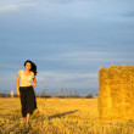 Countryside scene — Stock Photo