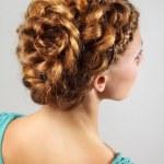 Beautiful hairstyle — Stock Photo #11383161