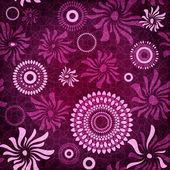 Dark-purple seamless pattern — Stock Vector