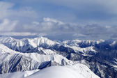 View from ski slopes — Stock Photo