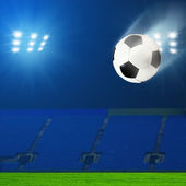 Abstract football or soccer backgrounds — Foto de Stock