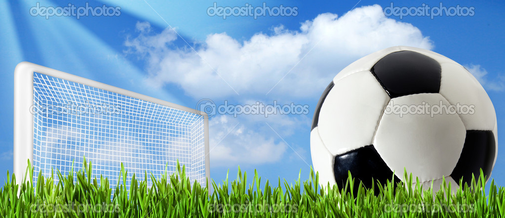 Soccer Backgrounds Stock Photo: Abstract Football Or Soccer Backgrounds