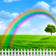 Stock Photo: Rainbow
