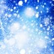 Royalty-Free Stock Photo: Abstract winter backgrounds with copy-space