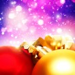 Royalty-Free Stock Photo: Xmas decorations with beauty bokeh, abstract backgrounds