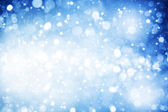 Abstract winter backgrounds with beauty bokeh — Stock Photo