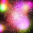 Fireworks. Abstract holidays backgrounds — Stock Photo