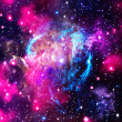 Deep space. Abstract natural backgrounds - Foto Stock