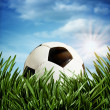 Abstract football or soccer backgrounds — Stock Photo