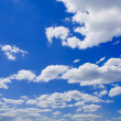A nature backgrounds on the sky backgrounds — Stock Photo