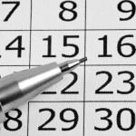 Calendar — Stock Photo #12417676