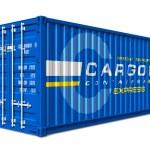 Постер, плакат: Cargo container
