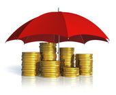 Financial stability, business success and insurance concept — Stock Photo