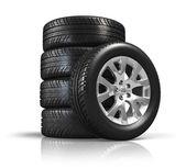 Set auto wielen — Stockfoto