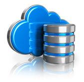 Concepto de almacenamiento cloud — Foto de Stock