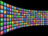 Mobiele toepassingen concept — Stockfoto