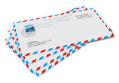 Paper mail letlers — Stock Photo