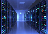 Server room interior — Stockfoto