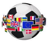 Football championship concept — Stock Photo