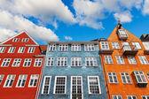 старый копенгаген архитектура — Стоковое фото