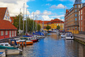 Old Town in Copenhagen, Denmark — Stock Photo