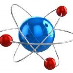 Atom model — Stock Photo #11903503
