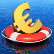 Stock Photo: Financial crisis in Europe concept
