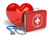 Medical assistance and cardiology concept — Stock Photo
