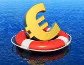 Financial crisis in Europe concept — Stock Photo