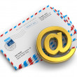 Постер, плакат: E mail and internet messaging concept