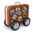Travel and tourism concept — Stock Photo