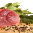 Stockfoto: Raw pork meat