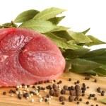 carne di maiale cruda — Foto Stock
