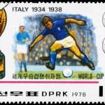 NORTH KOREA - CIRCA 1978 Italy World Cup Winners — Stock Photo #11078723
