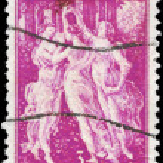USA - CIRCA 1940 Three Graces — Stock Photo