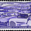 USA - CIRCA 1953 Truck - Stock Photo