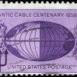 USA - CIRCA 1958 Atlantic Cable — Stock Photo