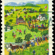 USA - CIRCA 1969 Grandma Moses — Stock Photo