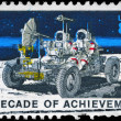 Stock Photo: US- CIRC1971 Lunar Rover