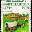 USA - CIRCA 1974 Fort Harrod — Stock Photo