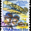 USA - CIRCA 1978 Wright Brothers — Stock Photo