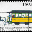 Stock Photo: US- CIRC1983 Horsecar