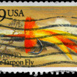 USA - CIRCA 1991 Apte Tarpon Fly — Stock Photo