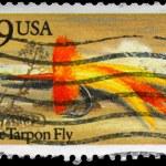 USA - CIRCA 1991 Apte Tarpon Fly — Stock Photo